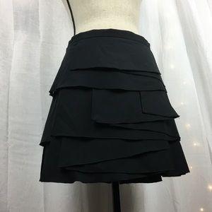 BCBGMaxAzria Layered Mini Skirt EUC Size 8
